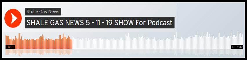 shale gas news podcast